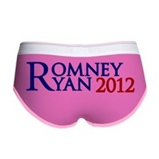 Mitt Romney Paul Ryan 2012 Women's Boy Brief