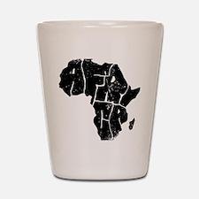 Africa Undivided Shot Glass