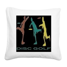 Triple Play Square Canvas Pillow
