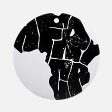 Africa Undivided Round Ornament