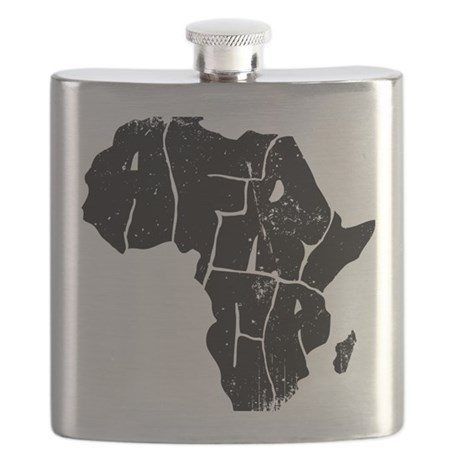 Africa Undivided Flask