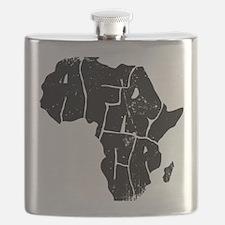 Africa Undivided Flask