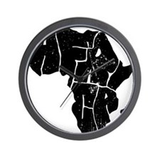 Africa Undivided Wall Clock