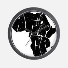 Africa Undivided Wall Clock