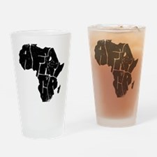 Africa Undivided Drinking Glass