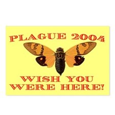 Postcards (Package of 8) - Stopping cicadas