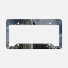 LDS Quotes- Spiritually Minde License Plate Holder