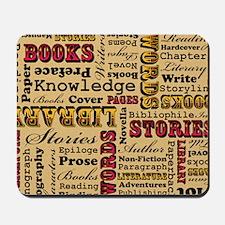Books Books Books Mousepad