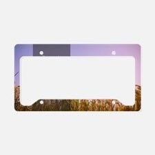 LDS Quotes- Be not weary in w License Plate Holder