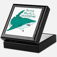 Saving Sharks Keepsake Box