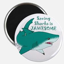 Saving Sharks Magnet