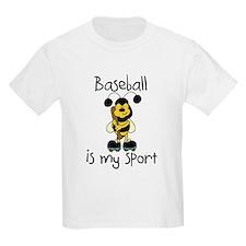 Bumblebee Baseball Kids T-Shirt