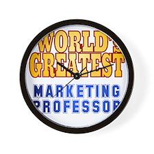 World's Greatest Marketing Professor Wall Clock