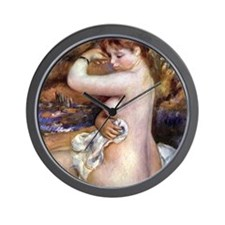 Renoir After The Bath Wall Clock