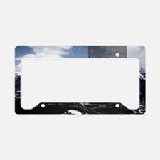 LDS Quotes- Never let a probl License Plate Holder
