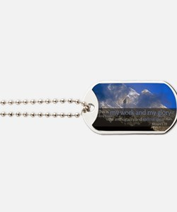 LDS Quotes- This is my work and my glory. Dog Tags