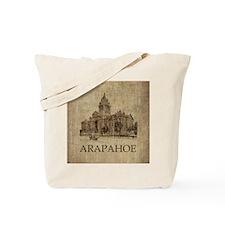Vintage Arapahoe Tote Bag