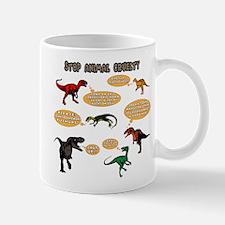 Dinosaur Bullies Mugs