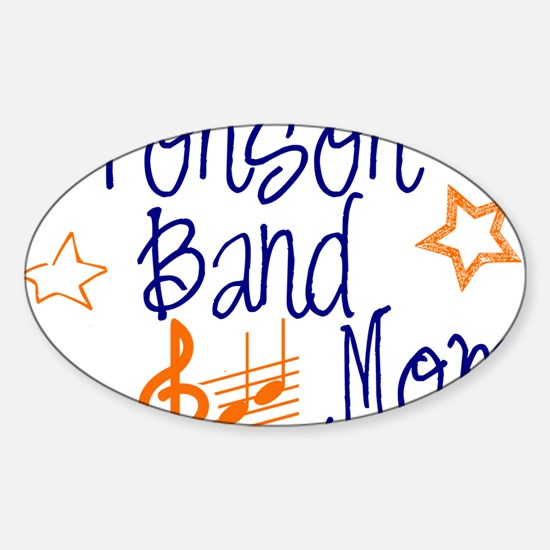 Bronson Band Moms Sticker (Oval)