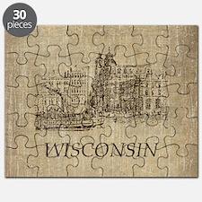 Vintage Wisconsin Puzzle