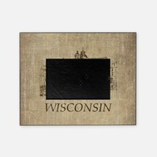 Vintage Wisconsin Picture Frame