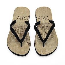 Vintage Wisconsin Flip Flops