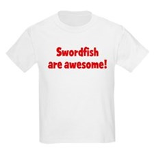 Swordfish are awesome Kids T-Shirt