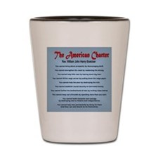 The American Charter or The Decalogue Shot Glass