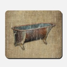 Vintage Bathtub Mousepad
