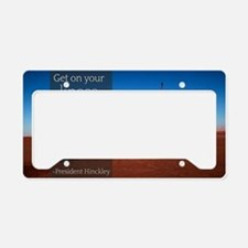 LDS Quotes- President Hinckle License Plate Holder