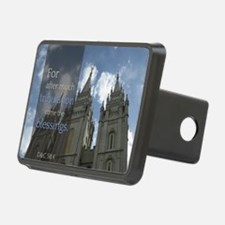 LDS Quotes- For after much Hitch Cover