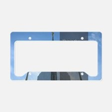 LDS Quotes- That He Lives! License Plate Holder