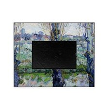 Van Gogh Flowering Orchards Picture Frame