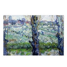 Van Gogh Flowering Orchar Postcards (Package of 8)