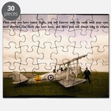 Tiger Moth Getting ready to fly Puzzle