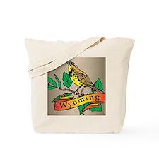 Wyoming Meadowlark Tote Bag