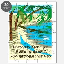 Blessed are the pure in heart Puzzle