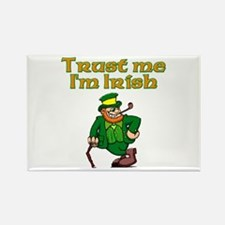 Trust Me I'm Irish Rectangle Magnet
