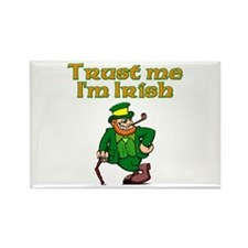 Trust Me I'm Irish Rectangle Magnet (10 pack)