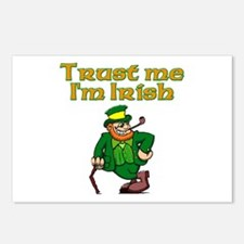 Trust Me I'm Irish Postcards (Package of 8)