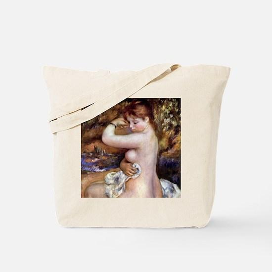 Pierre-Auguste Renoir After The Bath Tote Bag