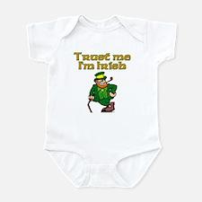Trust Me I'm Irish Infant Bodysuit