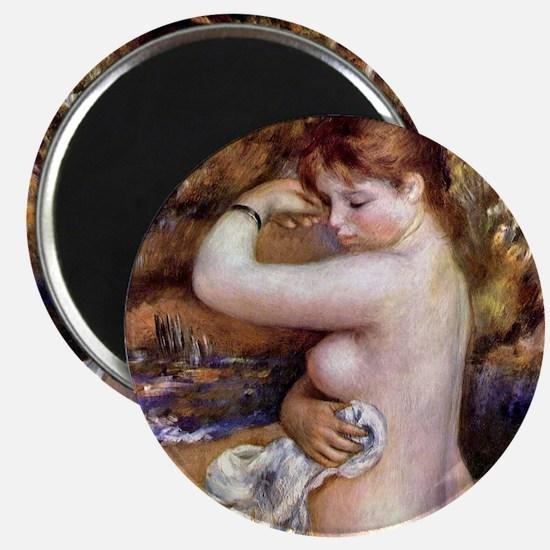 Pierre-Auguste Renoir After The Bath Magnet