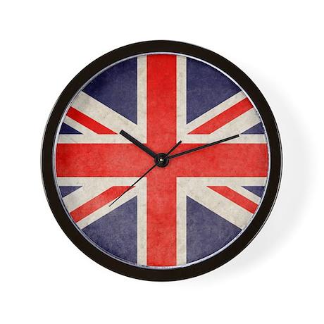 Flag Wall Clock