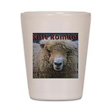 Knit Romney Shot Glass