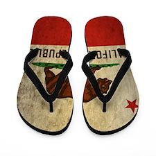 Grunge California Flip Flops