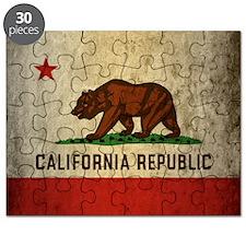 Grunge California Puzzle