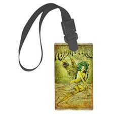Vintage_Chick La Fee Vert Luggage Tag