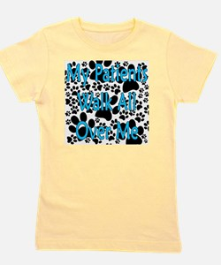My Patients Walk All Over Me (Veterinar Girl's Tee