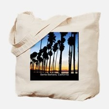 Sunset in Santa Barbara Tote Bag